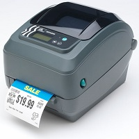 Zebra POS label printer